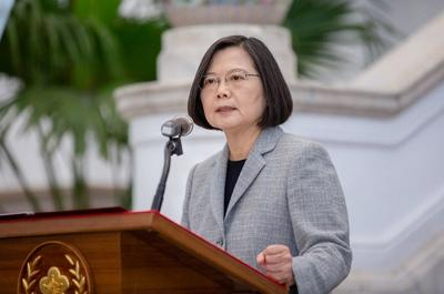 President Tsai highlights Taiwan's cooperation in fight against COVID-19