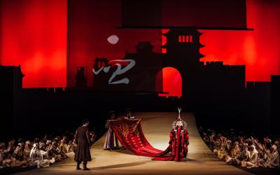 Puccini's Turandot will be livestreaming in Taiwan at the  National Kaohsiung Center for the Arts (Weiwuying) on August 28th.