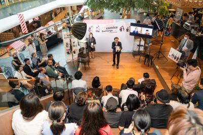 The First-Ever Taiwan-Thailand Comics Exchange ttcomics Takes Place in Bangkok, The Most Renown Cartoonists from Both Sides Engage in Collaborative Work and Talks Fans Can't Stop Liking it While its Popularity Sky-Rockets